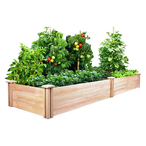 Greenes Cedar Raised Garden Kit 2 Ft. X 8 Ft. X 10.5 In.
