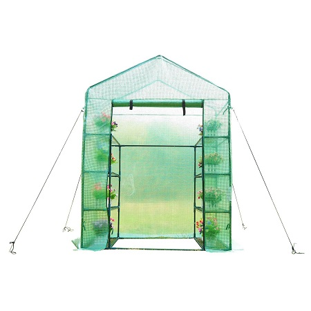 Outsunny Outdoor Compact Walk-in Greenhouse