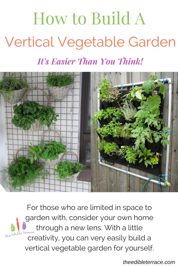 Build Vertical Vegetable Garden
