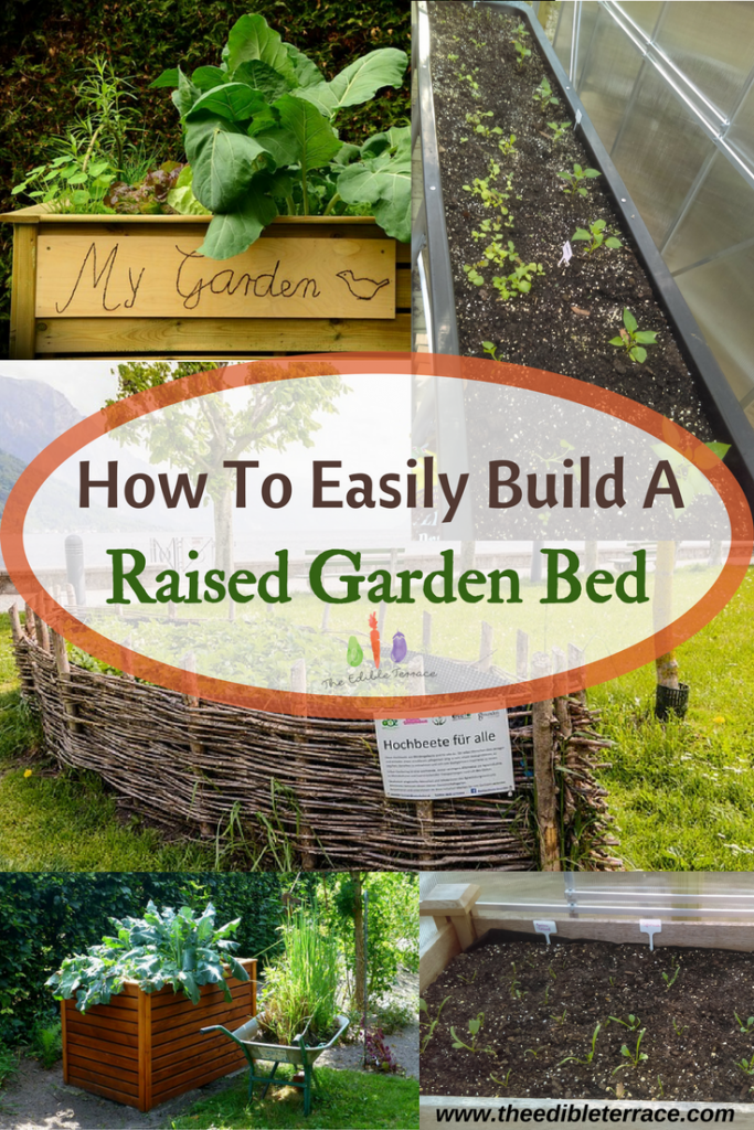 easily build an amazing raised garden bed how to plans