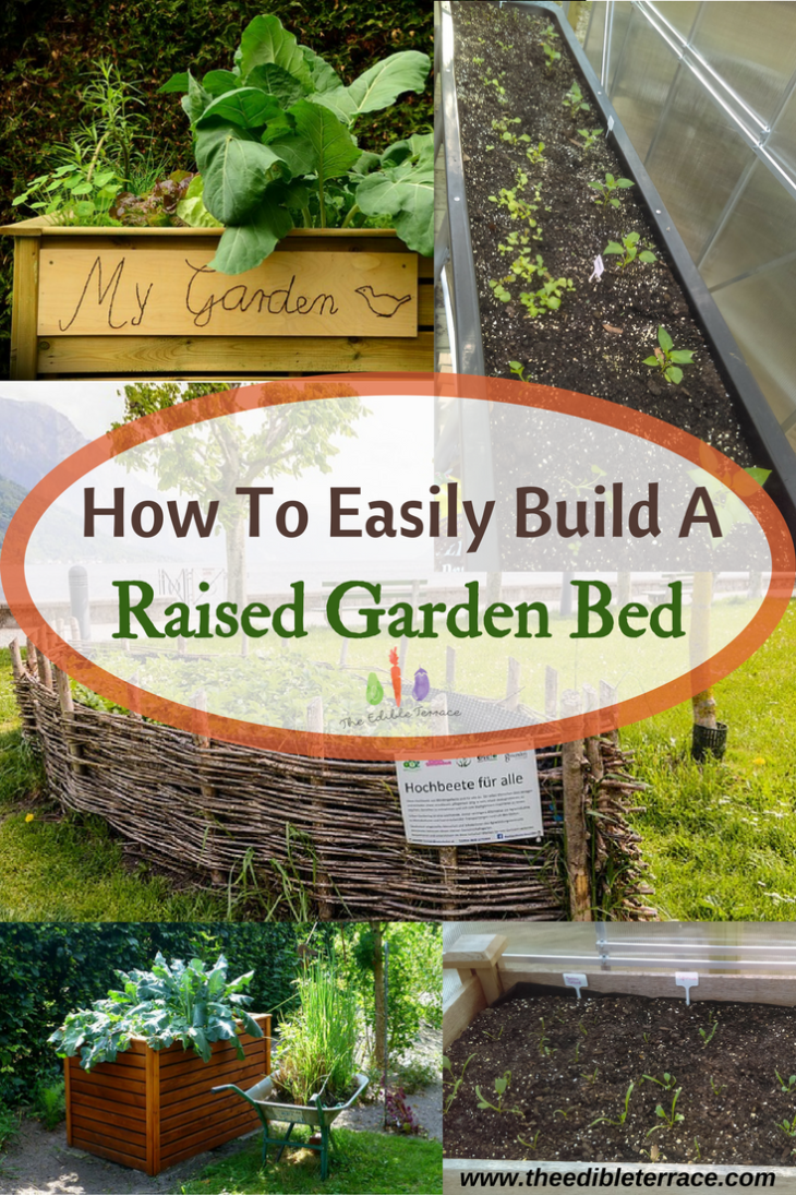 With a raised bed or garden you get to garden with less back pain AND fewer weeds. A raised garden makes the most use of your space and has many advantages.