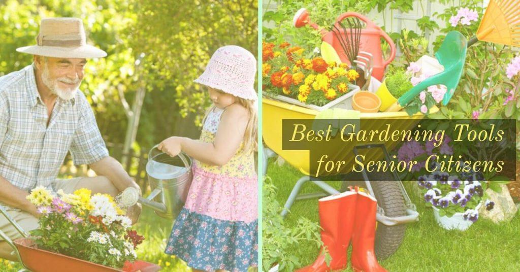 Elderly gardening tools