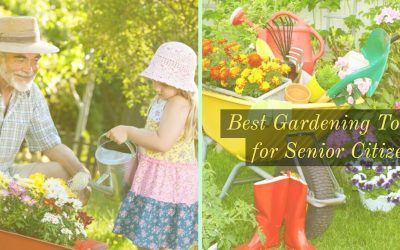 Here's The 8 Best Gardening Tools For Seniors