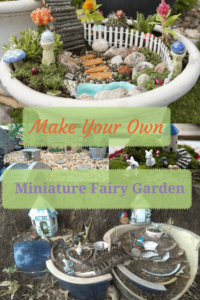 Do you want to jump on the bandwagon and make your own miniature fairy garden too? Not only is it great fun for all members of the family, but it also can make an amazing gift. Below are some complete fairy garden kits that have everything you need to get started, from the container to the fairies to the decorations.