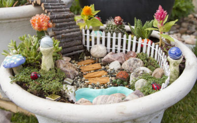 Make Your Own Miniature Fairy Garden – The Easy Way