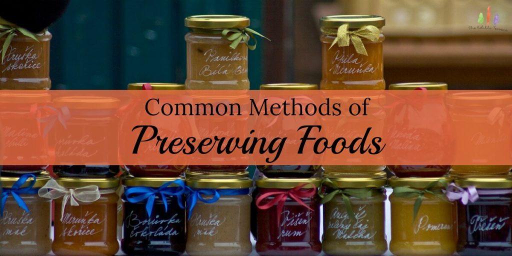 commonmethodsof processingpreservingfood
