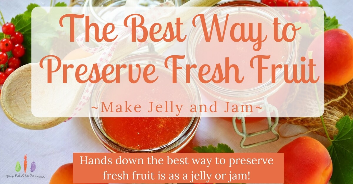 The Best Way To Preserve Fresh Fruit Is By Making Jelly and Jam