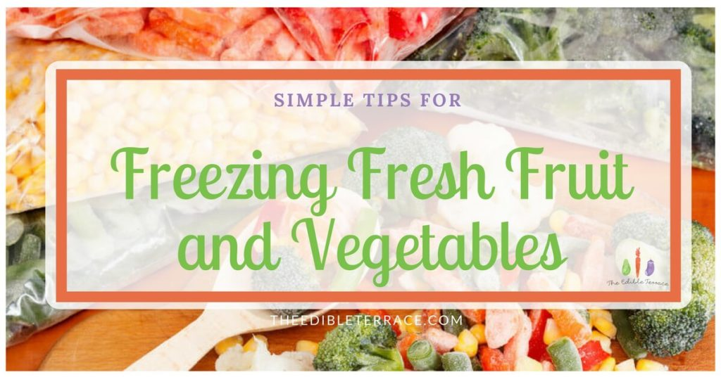 Can I Freeze Fresh Vegetables