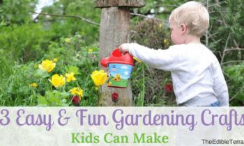 13 Easy & Fun Gardening Crafts Kids Can Make