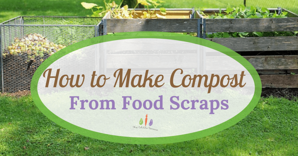 How to make compost from food scraps