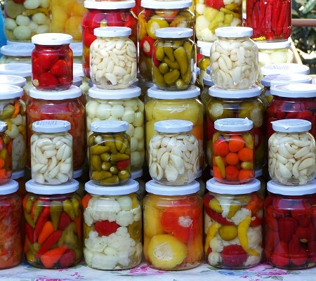 benefits fermented pickles