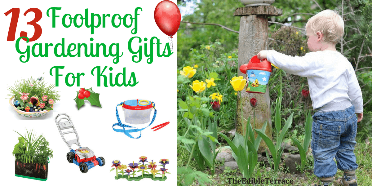 13 foolproof gardening gifts for kids under 45 negle Images