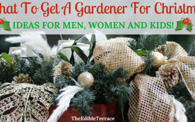 What To Get A Gardener For Christmas. Men, Women and Kids!