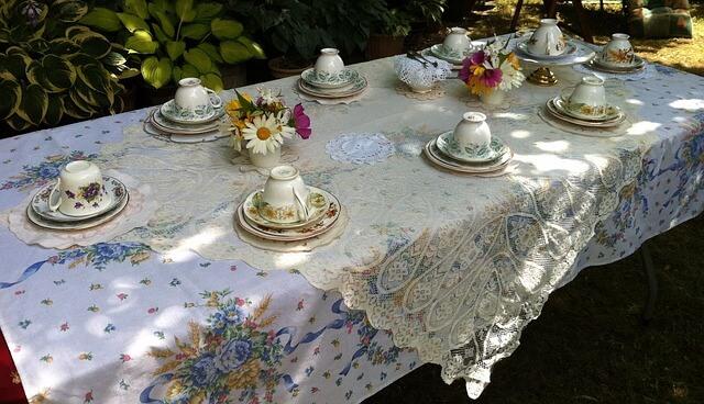 english garden party food ideas