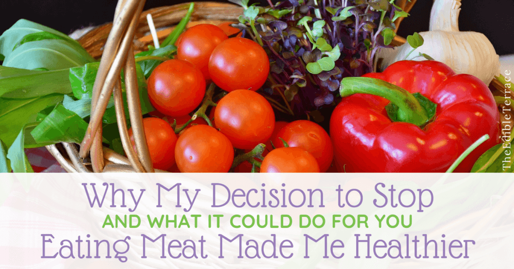My decision to stop eating meat fb